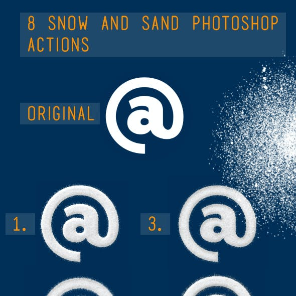 Snow And Sand Effect Generator