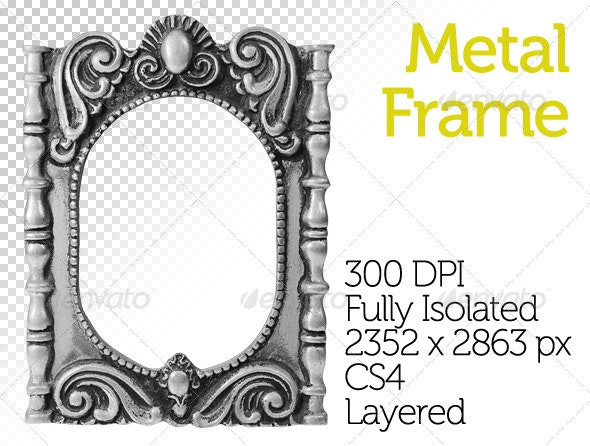 Metal Frame - Miscellaneous Isolated Objects