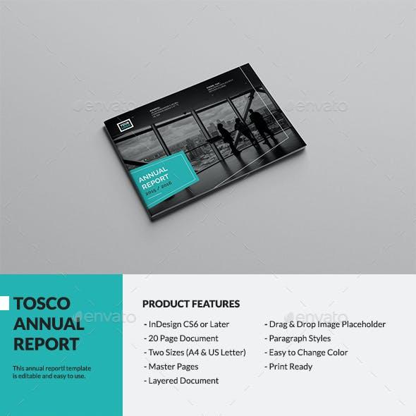 Tosco Landscape Annual Report