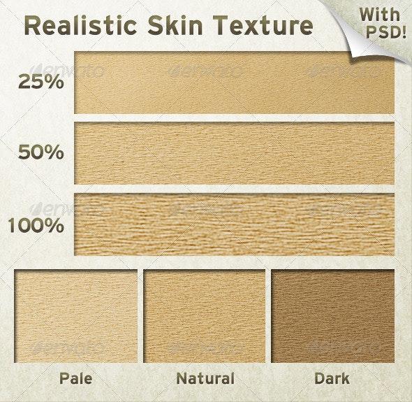 Realistic Skin Texture - Miscellaneous Textures