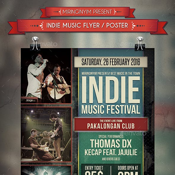 Indie Music Flyer / Poster
