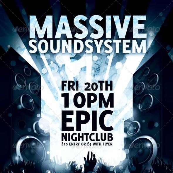 Nightclub Event Flyer