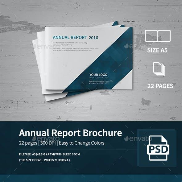Annual Report Brochure 2016