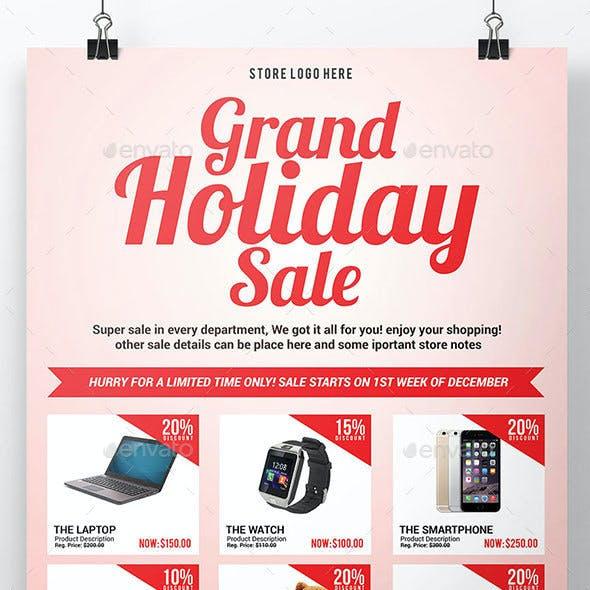 Multipurpose Promo Sales Flyer