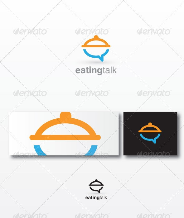 Eatingtalk - Humans Logo Templates