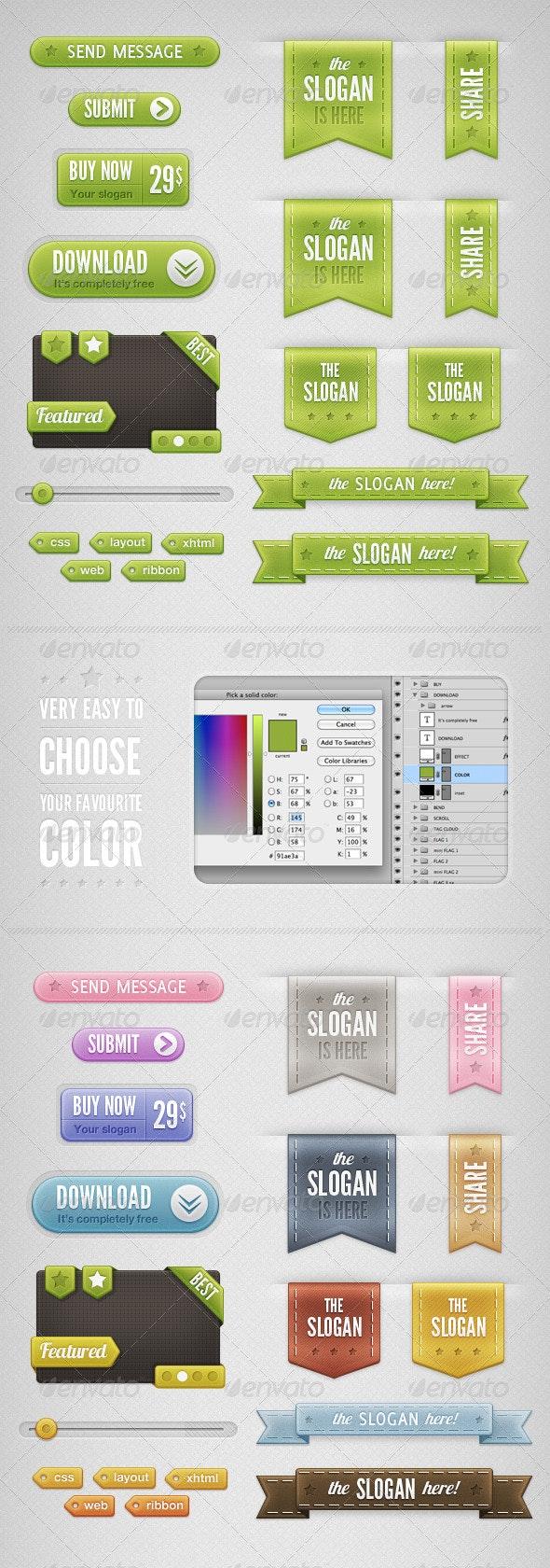 Web Elements 2 - Miscellaneous Web Elements
