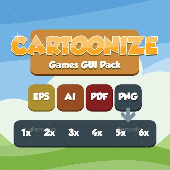 Cartoonizer Game Asset