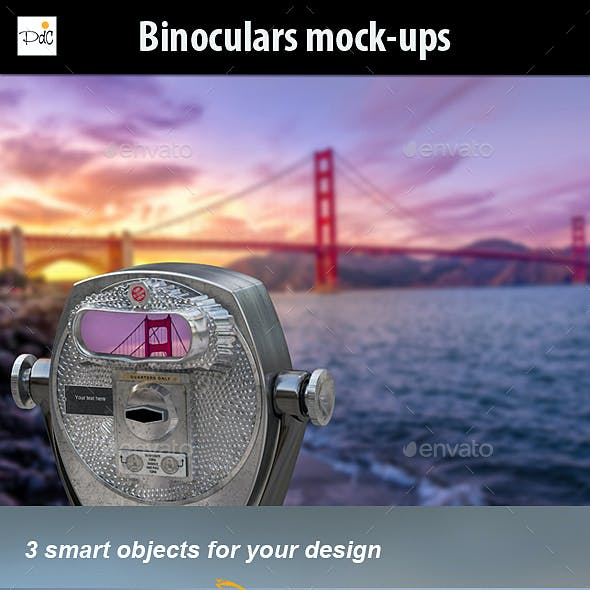Binoculars Mock-ups