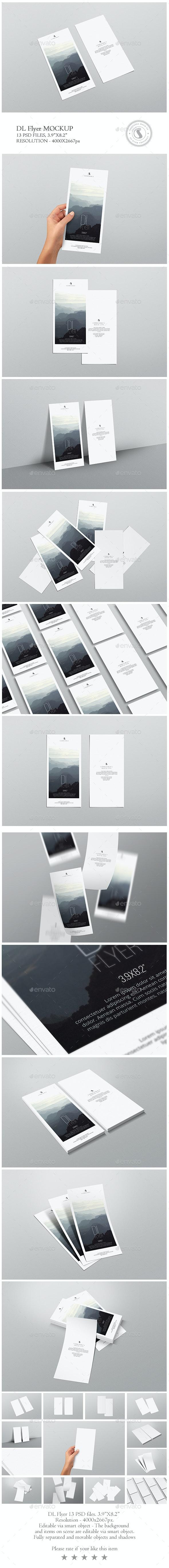 DL Flyer Mockup - Flyers Print