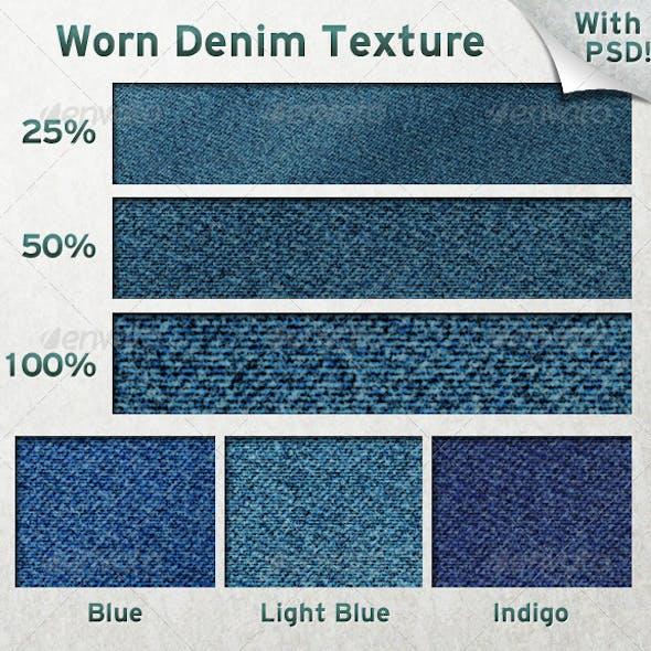 Worn Denim Texture
