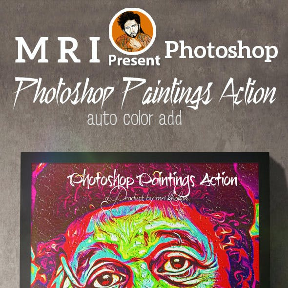 Photoshop Paintings Action