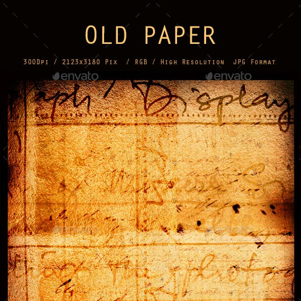 Old Paper 0257