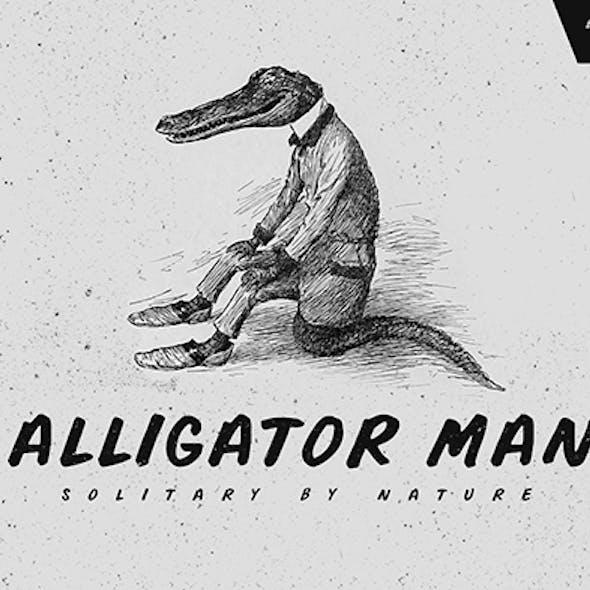 Alligator Man Font