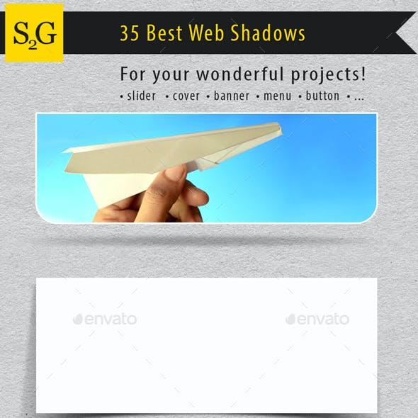 35 Realistic Web Shadows
