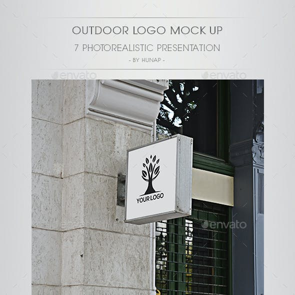 Outdoor Logo Mock Up