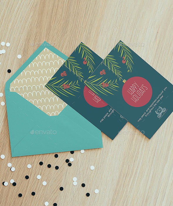 Happy Holidays Card for Business - Holiday Greeting Cards