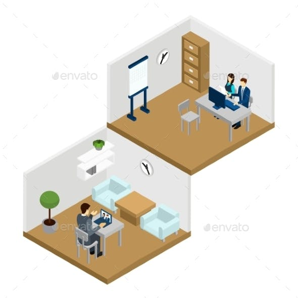 People Online Illustration