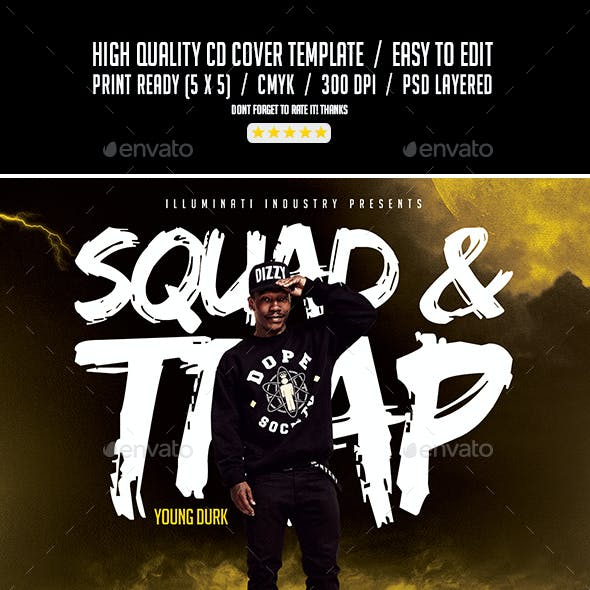 Trap Hip Hop Graphics, Designs & Templates from GraphicRiver