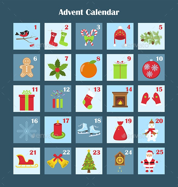 Christmas Advent Calendar - Christmas Seasons/Holidays