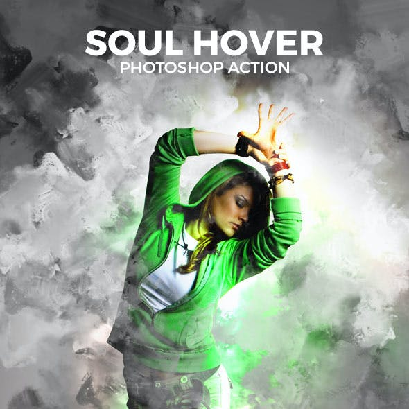 Soul Hover Photoshop Action