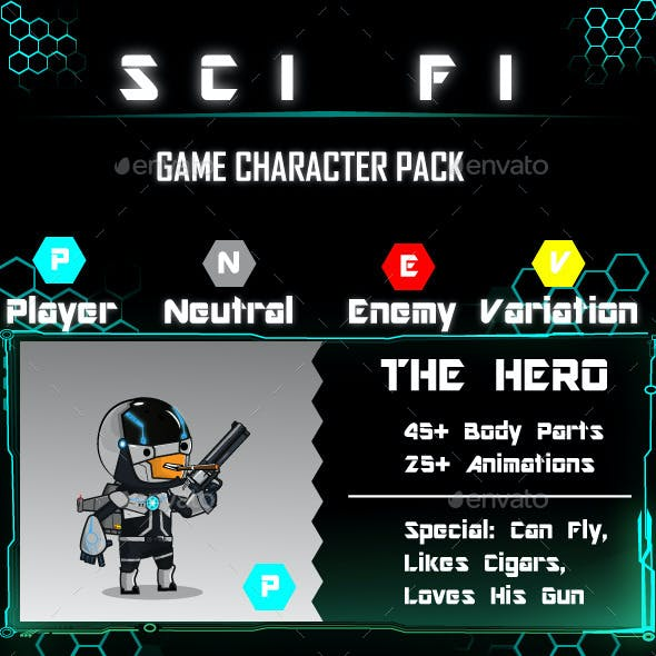 Character Sprites Pack