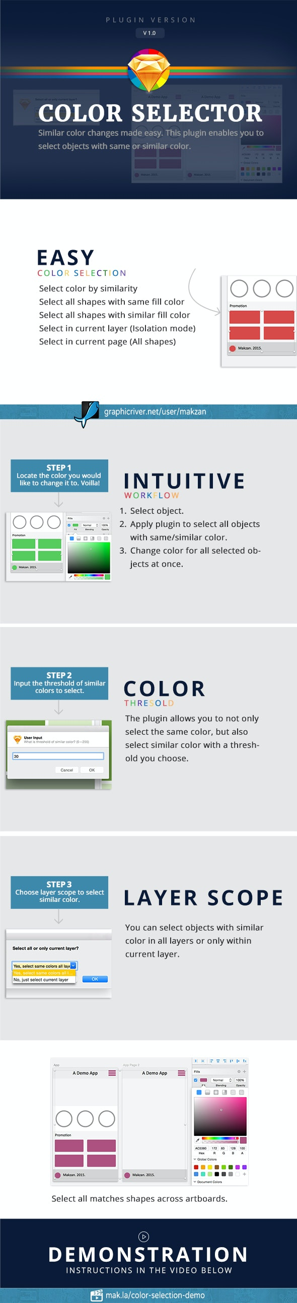 Color Selection - Sketch Plugins Add-ons