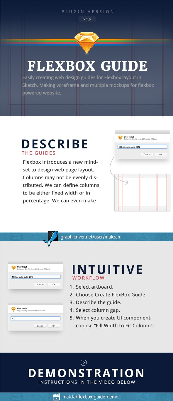 Flexbox Guide - Sketch Plugins Add-ons