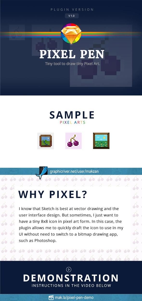 Pixel Pen - Sketch Plugins Add-ons