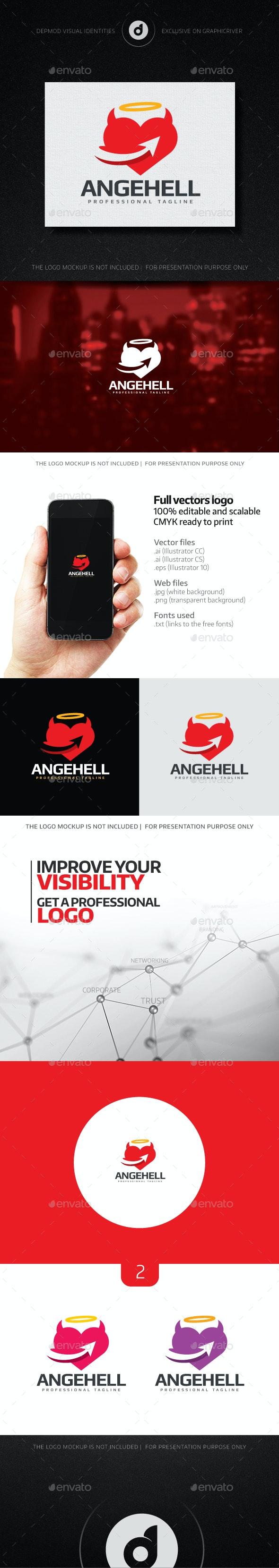 AngeHell Logo - Symbols Logo Templates