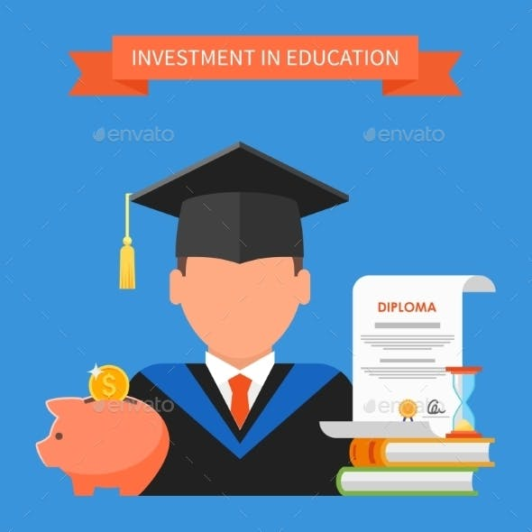 Invest in Education Concept
