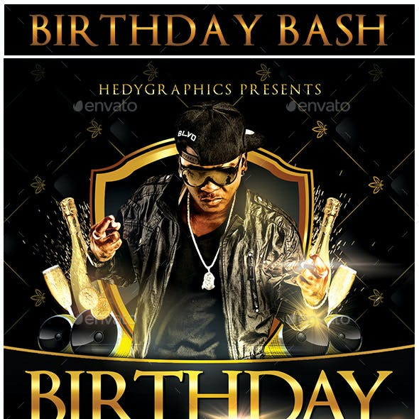 Birthday Bash - Flyer Template