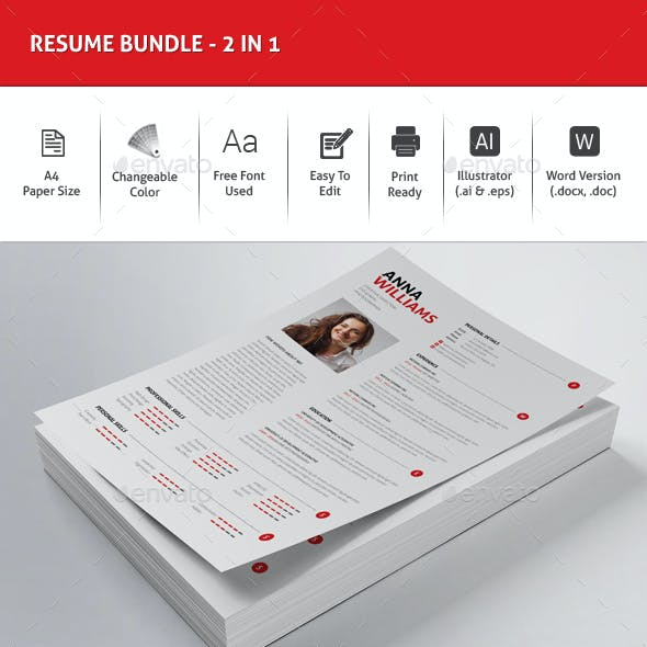 Resume Bundle -2in1