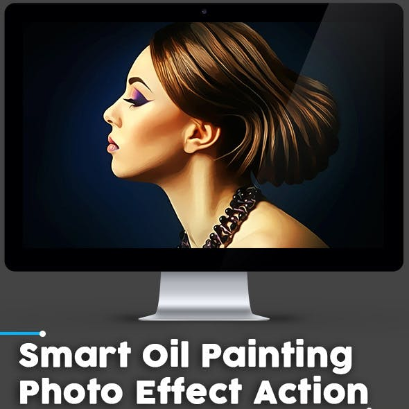 Smart Oil Painting  Photo Effect Action