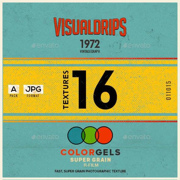 R-Film ColorGels - SUPERGRAIN