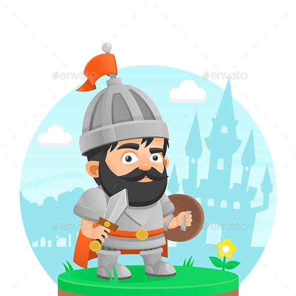 Warrior Character Castle Legend