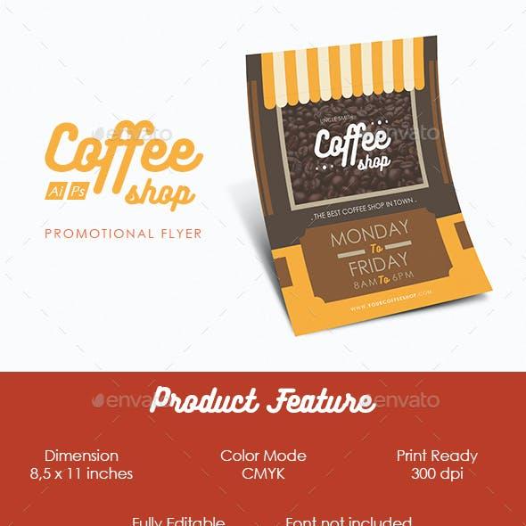 Coffeeshop Flyer