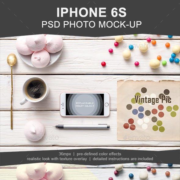 Iphone 6s PSD Mockup