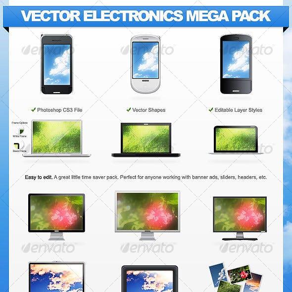 Vector Electronics Mega Pack - 11 Gadgets