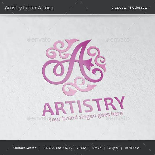 Artistry Letter A Logo