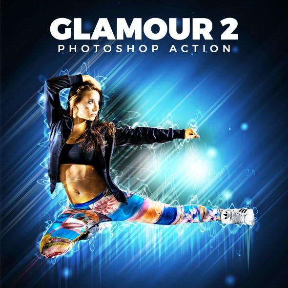 Glamour 2 Photoshop Action