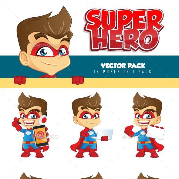 Superhero Mascot Pack