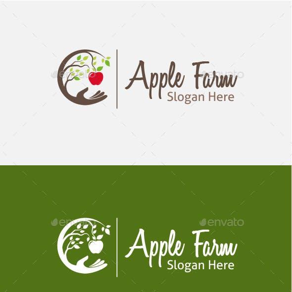 Apple Farm Logo Template