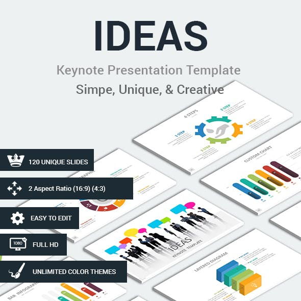 IDEAS Keynote Presentation Template