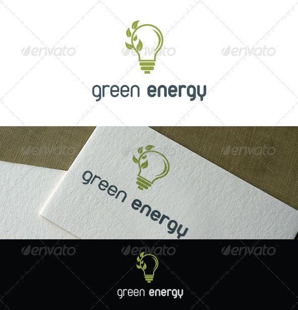 Green Energy Logo - Nature Logo Templates