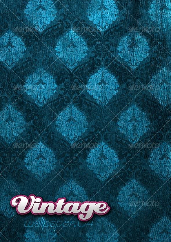 Vintage Wallpaper .04 - Patterns Backgrounds