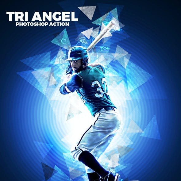 Tri Angel Photoshop Action
