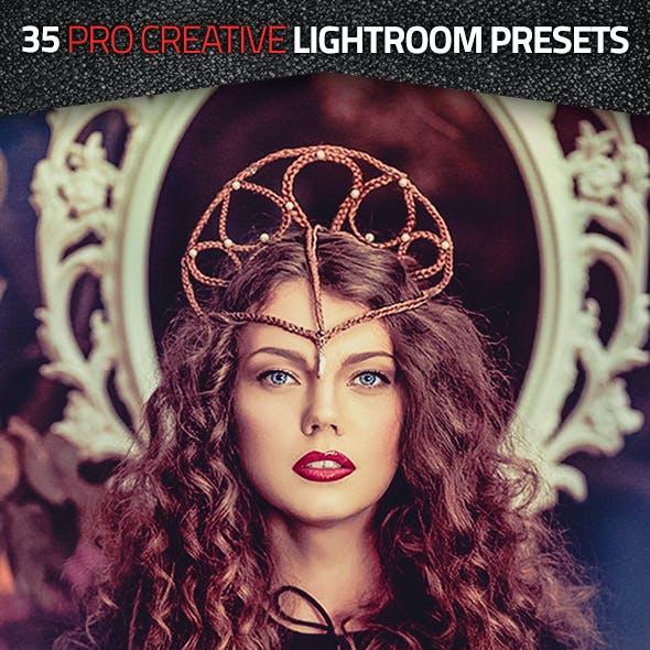 35 Pro Creative Lightroom Presets