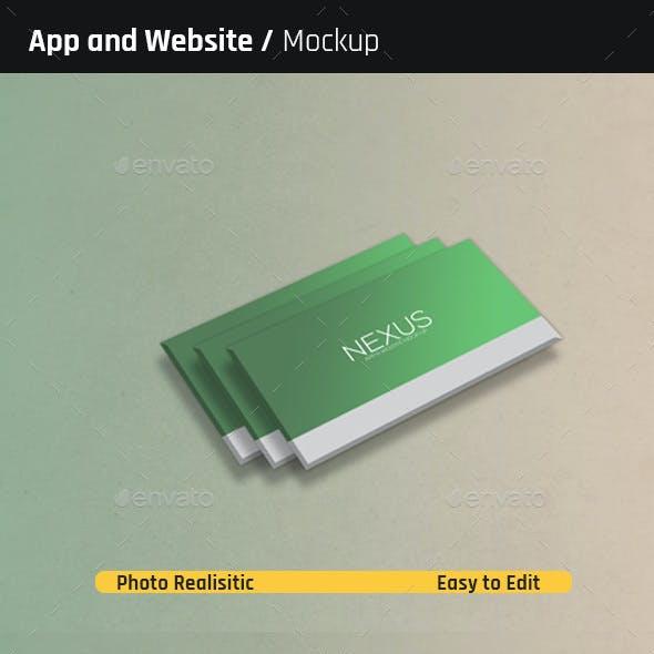 Perspective App and Website Mock-Ups