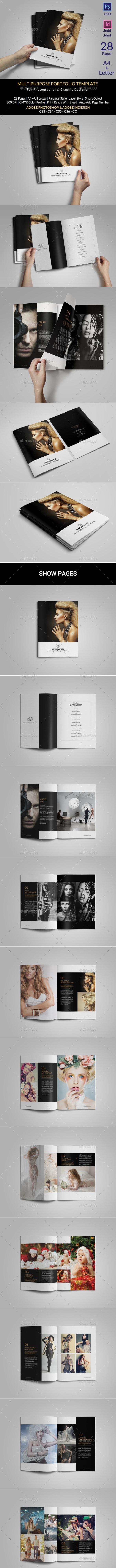 Portfolio Photographer - Portfolio Brochures