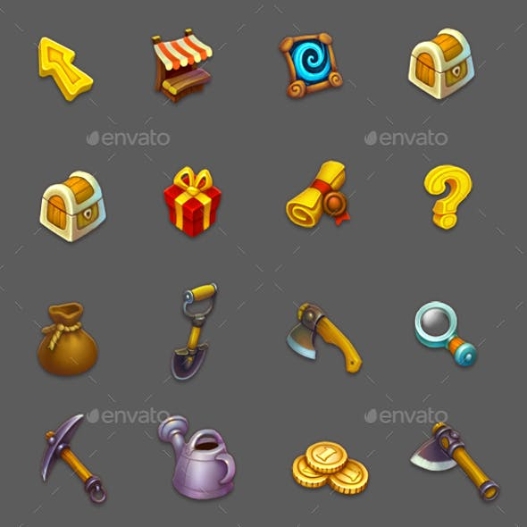 Game icons 2